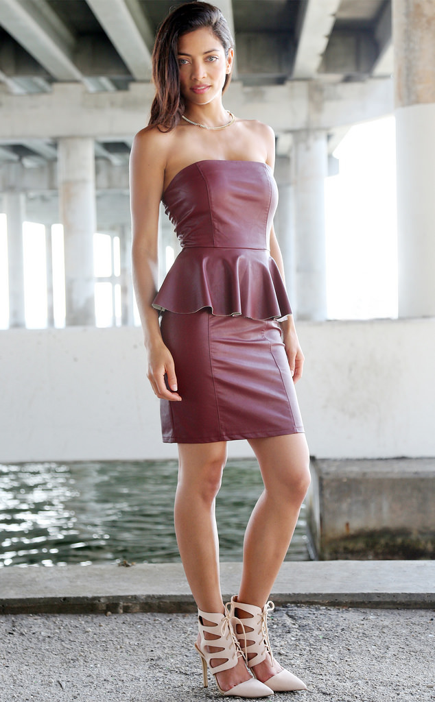 Hot Girls In Leather Skirts | Jill Dress