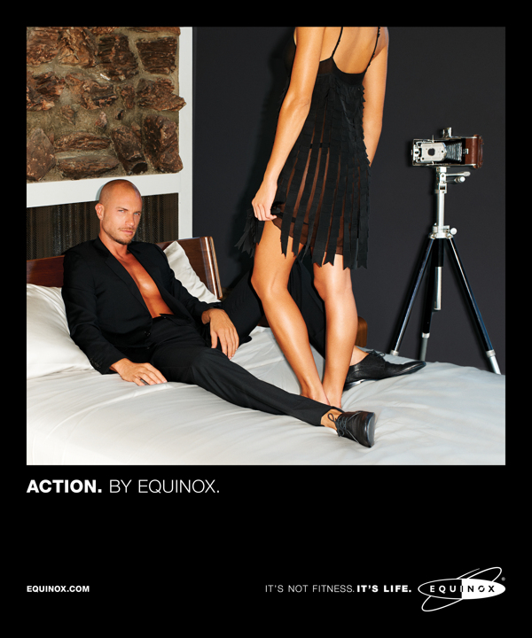 Equinox ad campaign 2013 Action