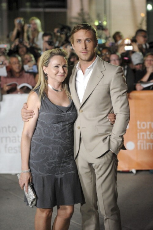 Ryan Gosling with his Mom