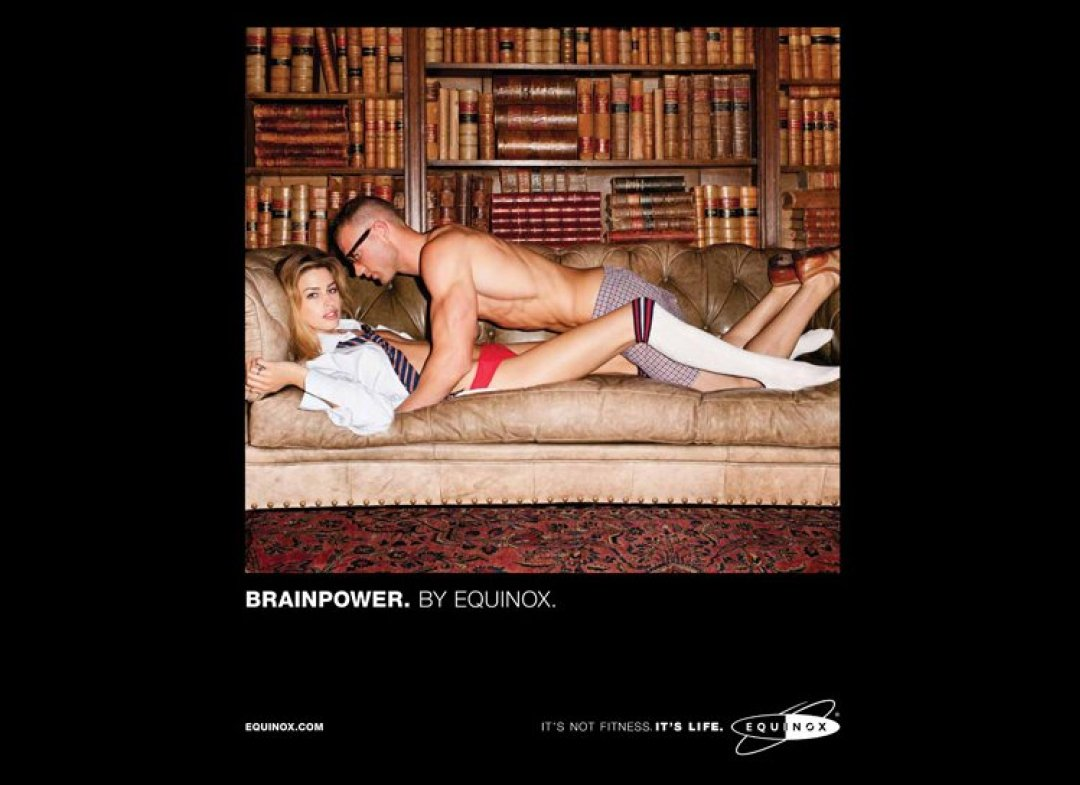 Equinox ad campaign 2012 BrainPower