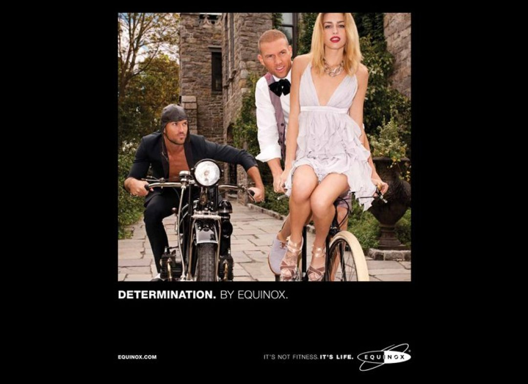 Equinox ad campaign 2012 Determination