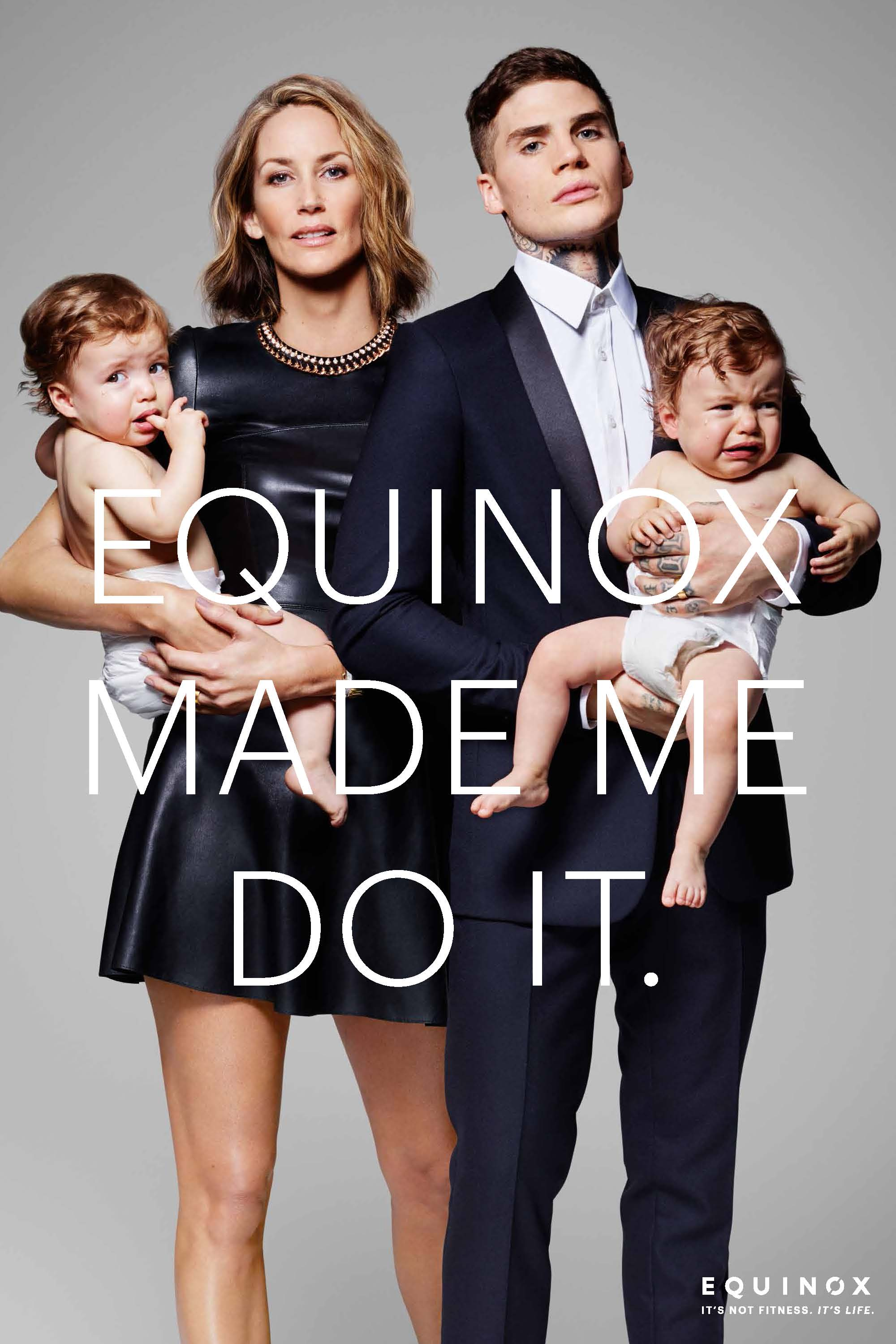 Equinox ad campaign 2015 Equinox Made Me Do It by Rankin 01