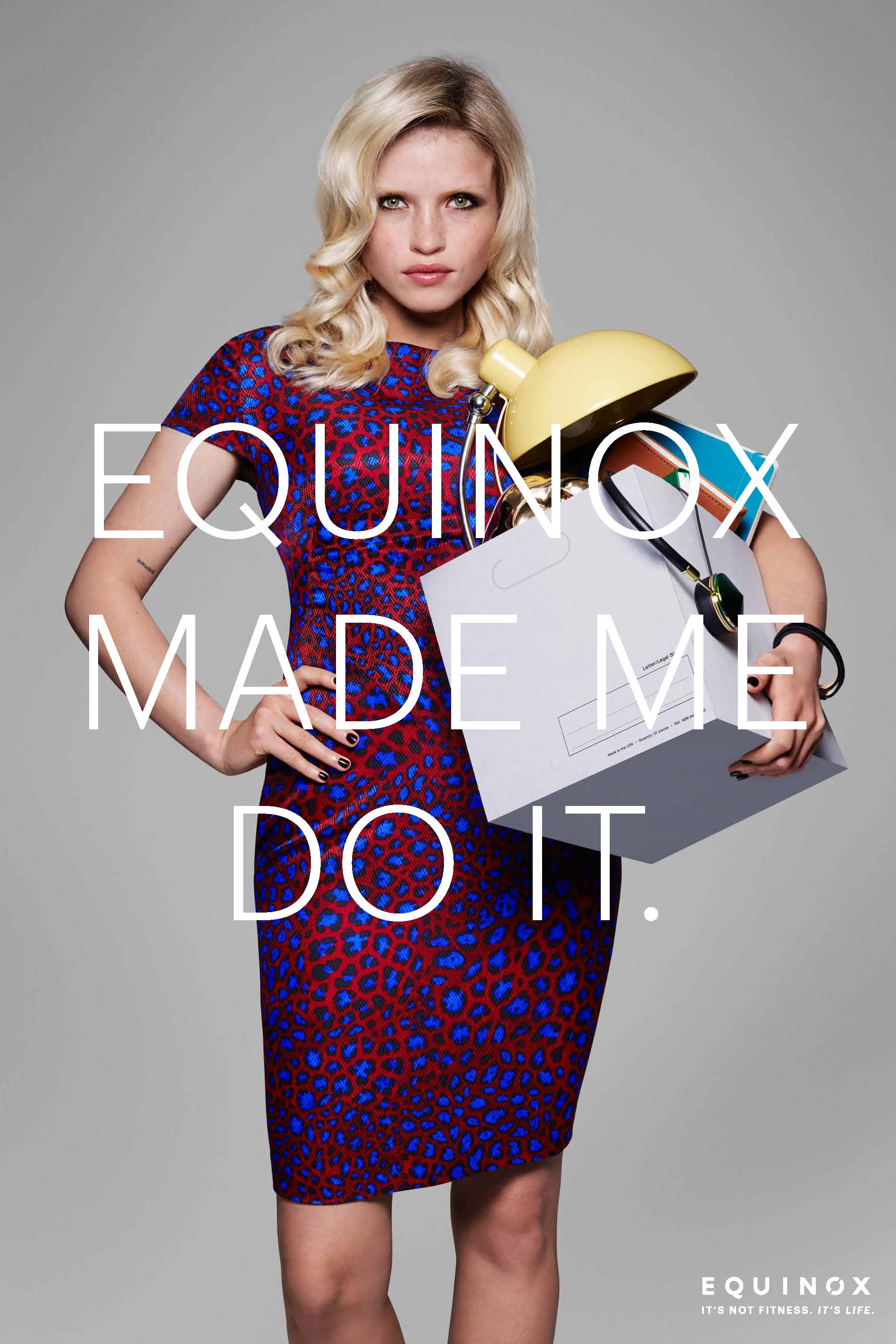 Equinox ad campaign 2015 Equinox Made Me Do It by Rankin 06