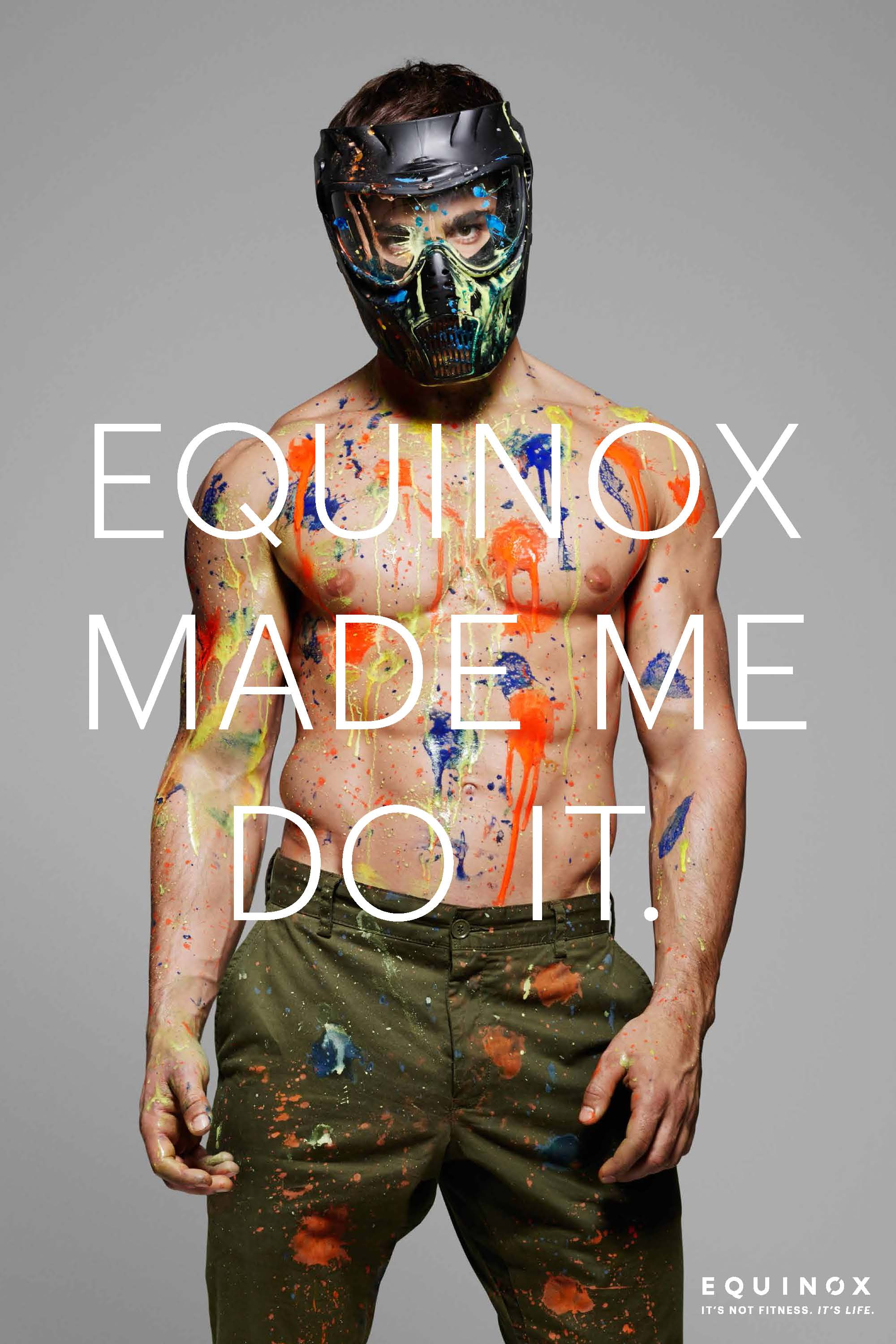 Equinox ad campaign 2015 Equinox Made Me Do It by Rankin 07
