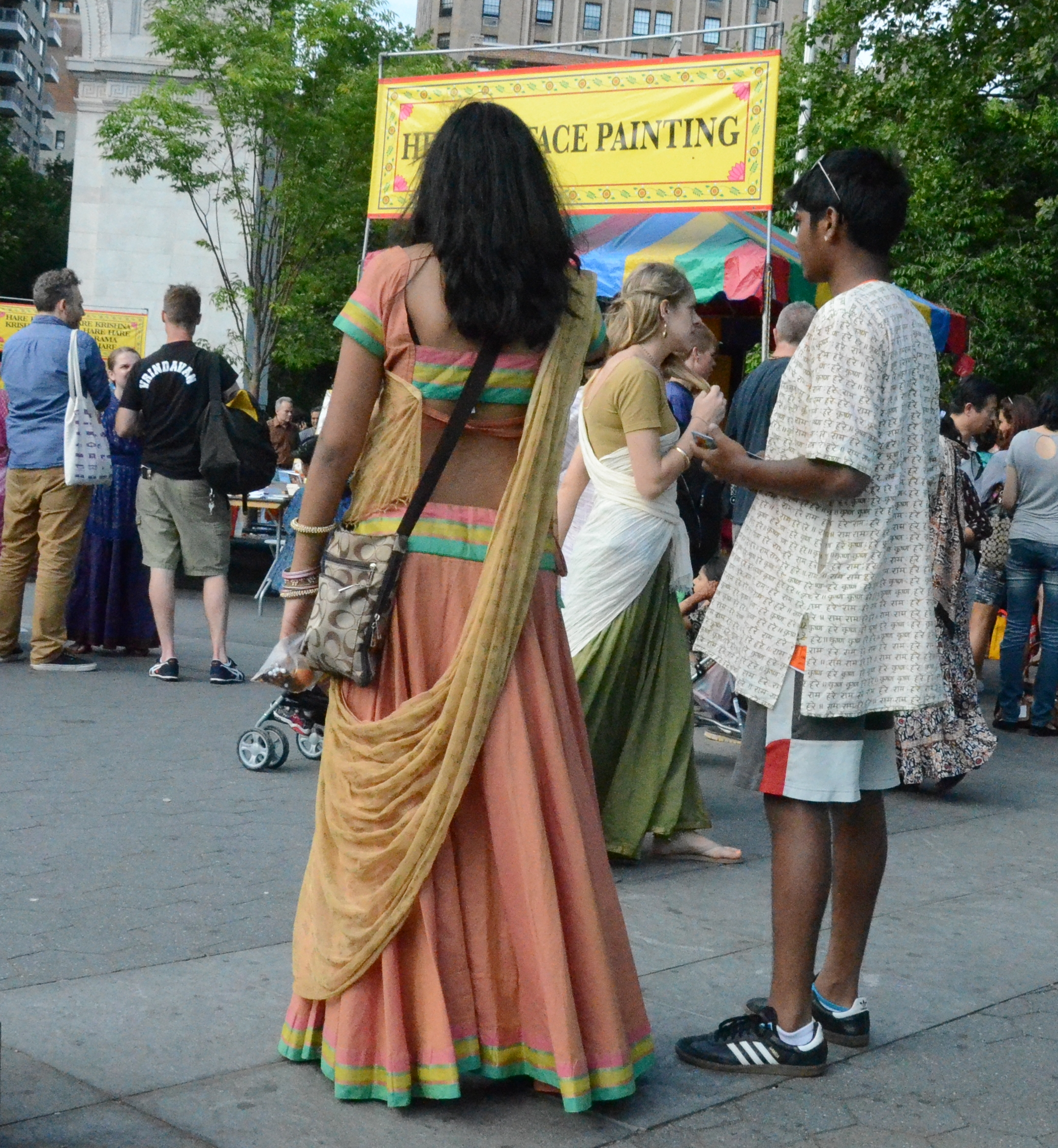Hare Krishna Parade New York 2014 Fashion 03