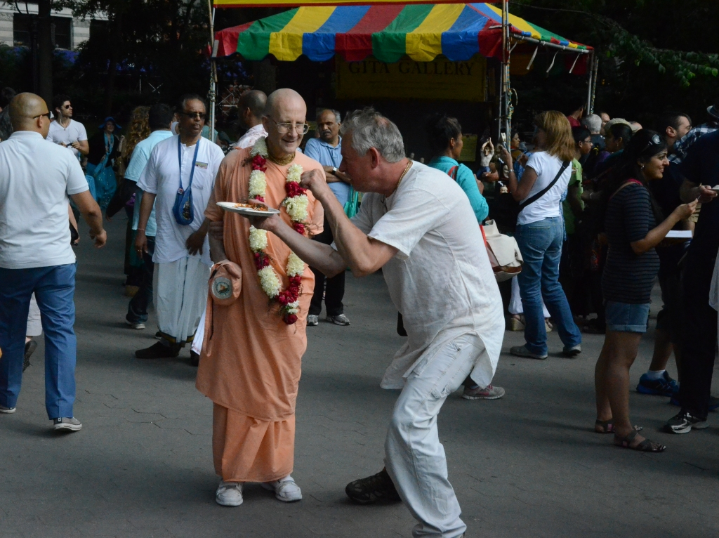 Hare Krishna Parade New York 2014 Priest