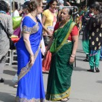 Hare Krishna Parade New York 2014 Saree 02