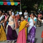 Hare Krishna Parade New York 2014 Traditional Indian Clothes 03